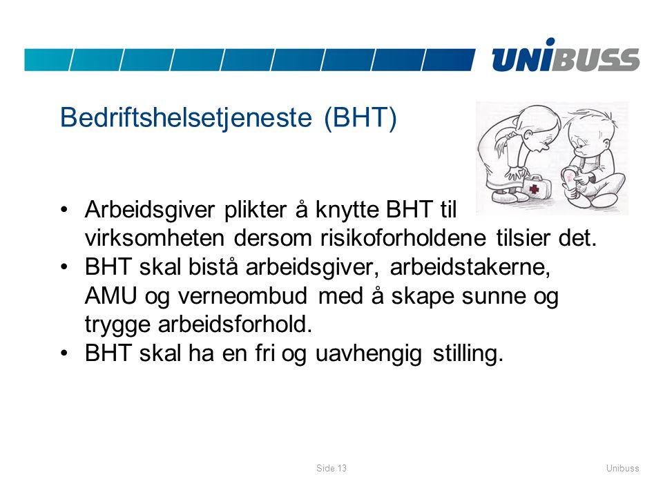 Bedriftshelsetjeneste (BHT)