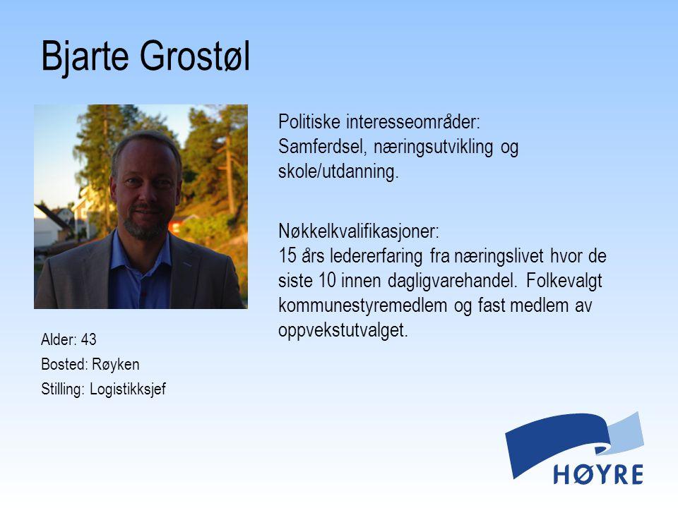 Bjarte Grostøl