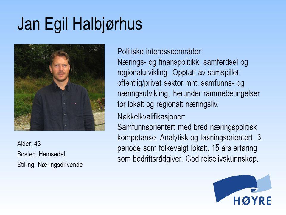 Jan Egil Halbjørhus