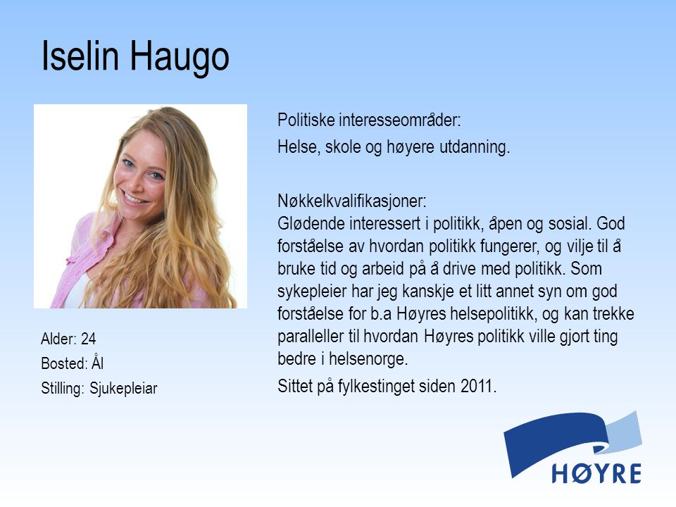Iselin Haugo