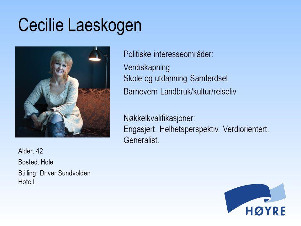 Cecilie Laeskogen