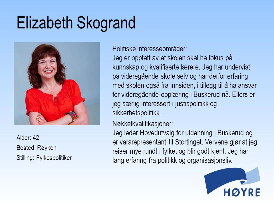 Elizabeth Skogrand