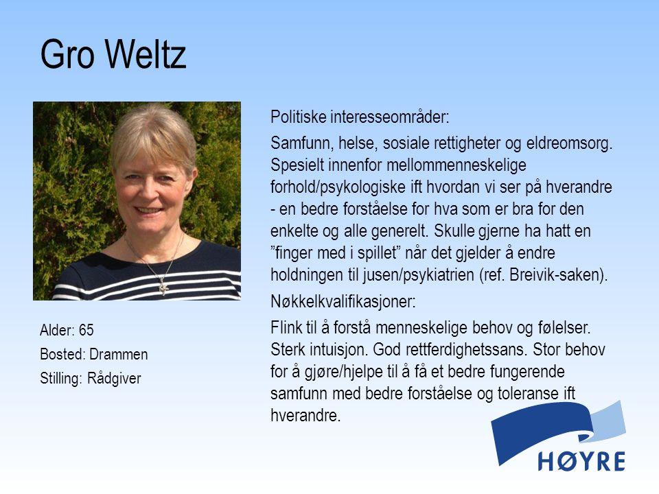 Gro Weltz