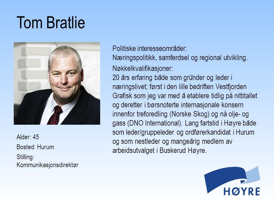 Tom Bratlie