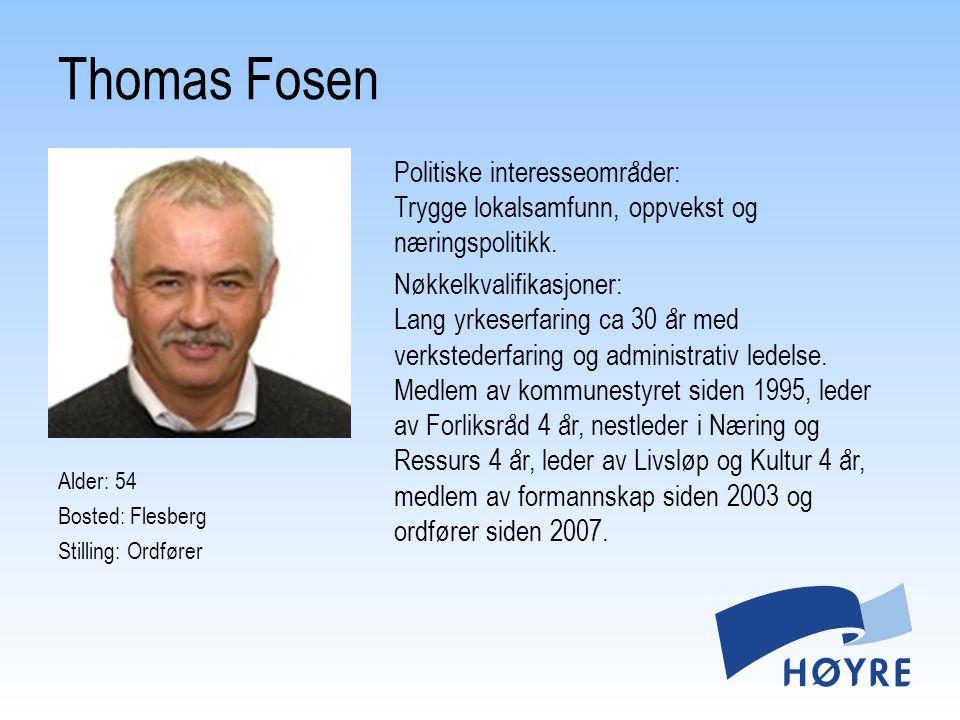 Thomas Fosen