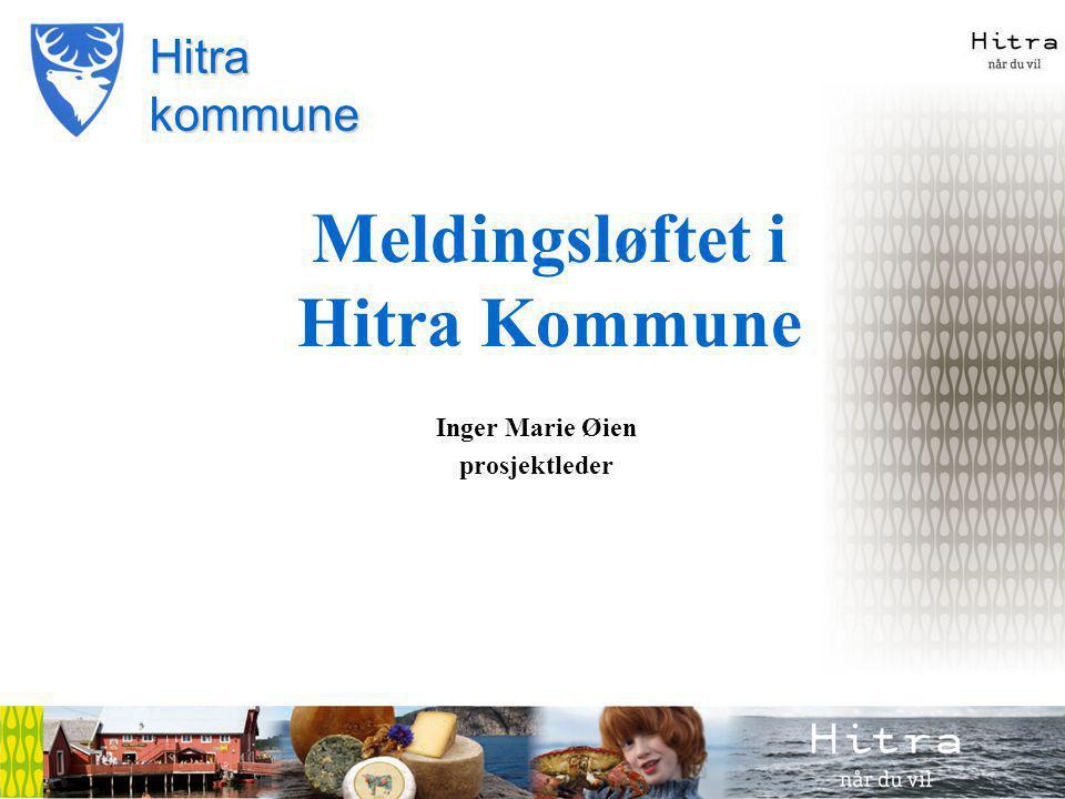 Meldingsløftet i Hitra Kommune