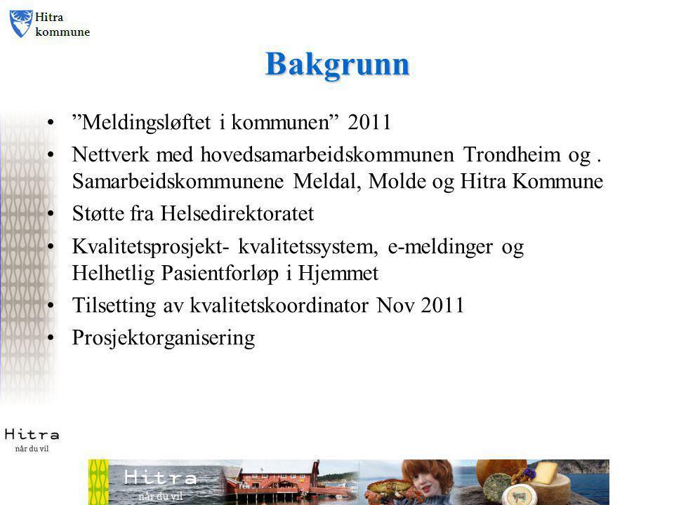 Bakgrunn Meldingsløftet i kommunen 2011