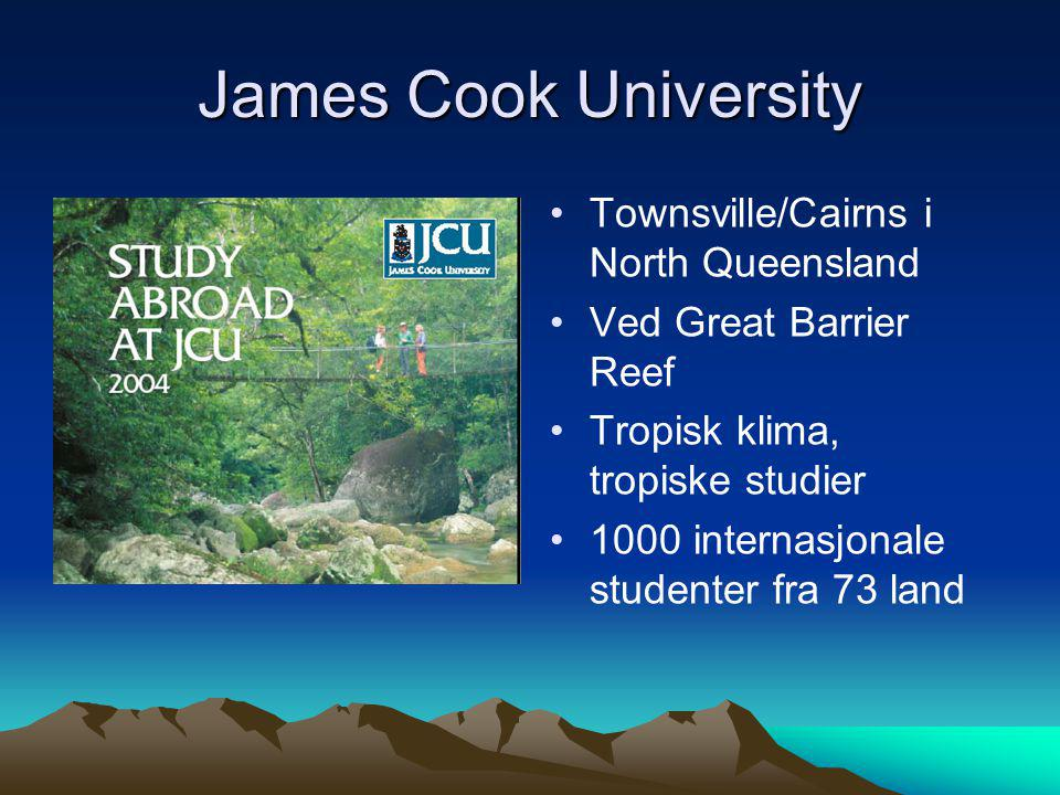 James Cook University Townsville/Cairns i North Queensland