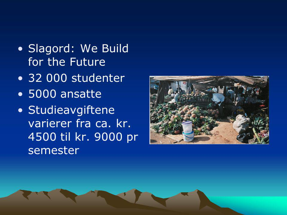 Slagord: We Build for the Future