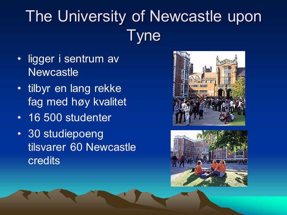 The University of Newcastle upon Tyne