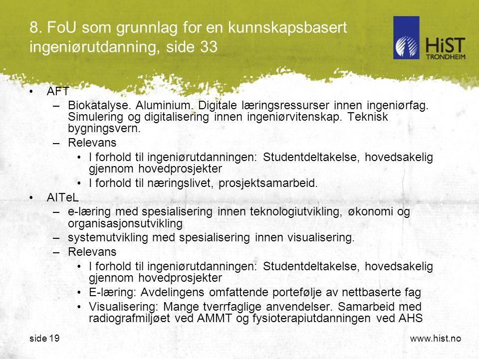 8. FoU som grunnlag for en kunnskapsbasert ingeniørutdanning, side 33