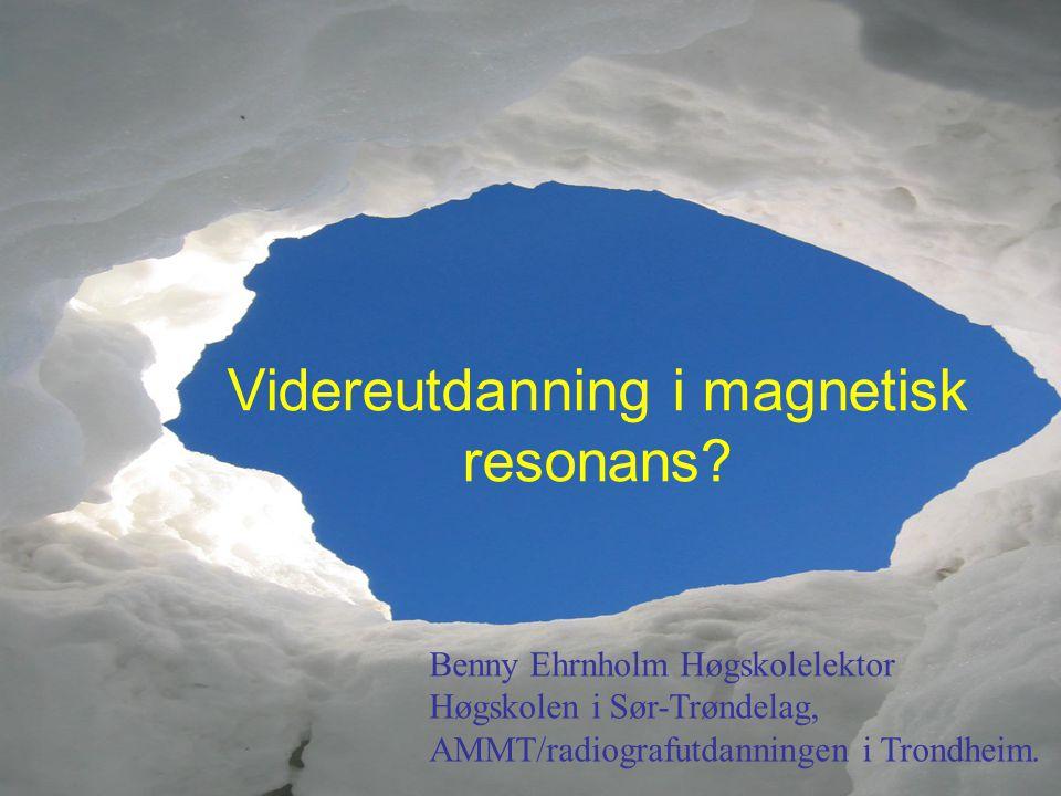 Videreutdanning i magnetisk resonans