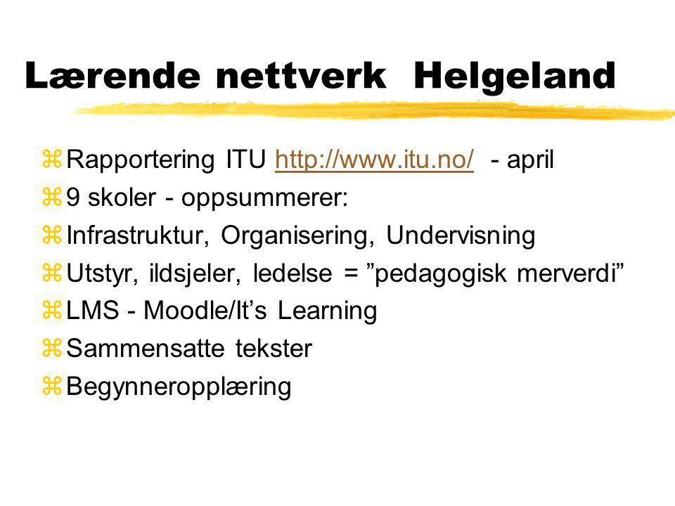 Lærende nettverk Helgeland