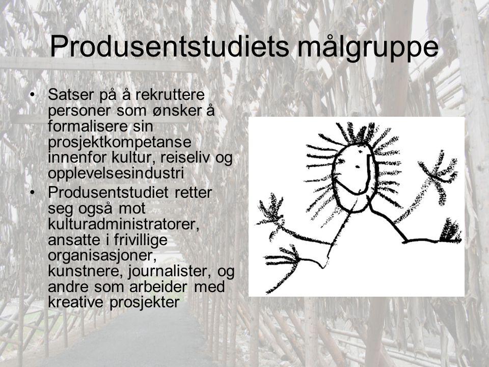 Produsentstudiets målgruppe