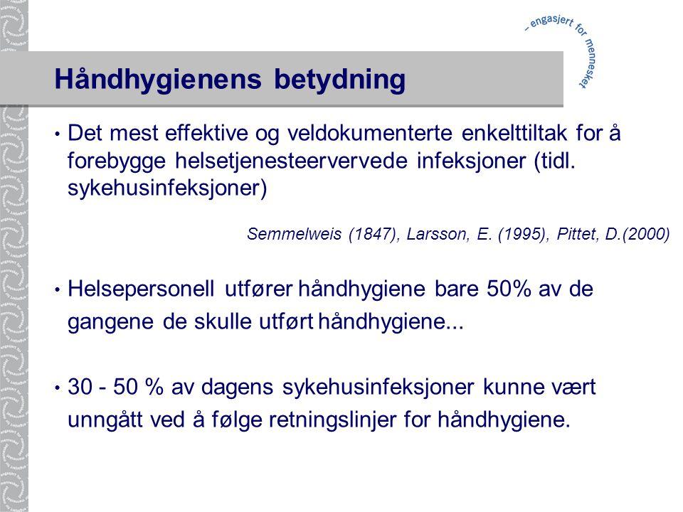 Håndhygienens betydning
