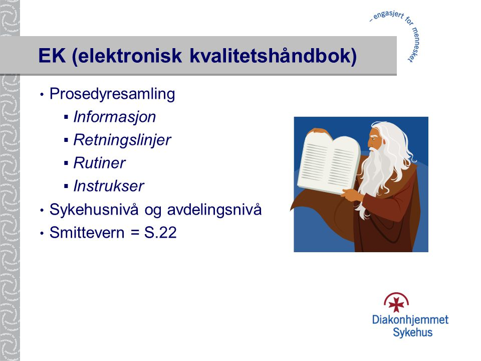 EK (elektronisk kvalitetshåndbok)