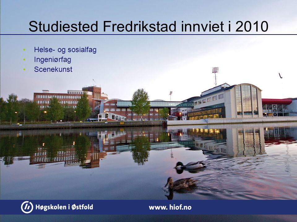 Studiested Fredrikstad innviet i 2010