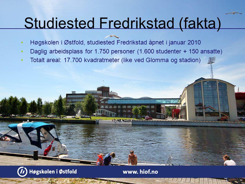 Studiested Fredrikstad (fakta)