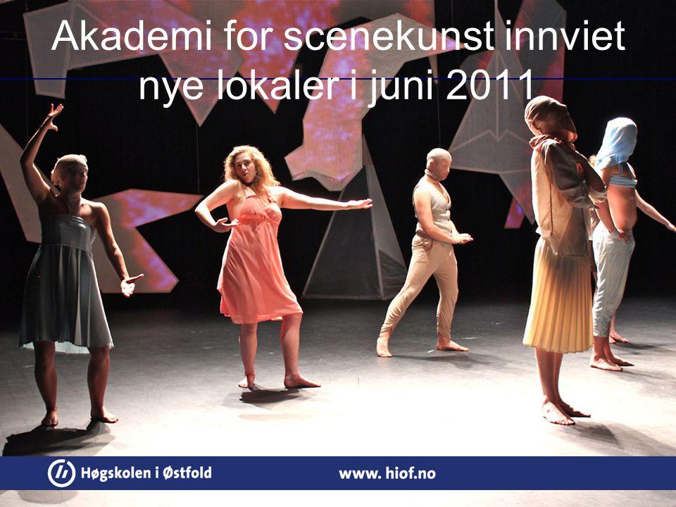 Akademi for scenekunst innviet nye lokaler i juni 2011
