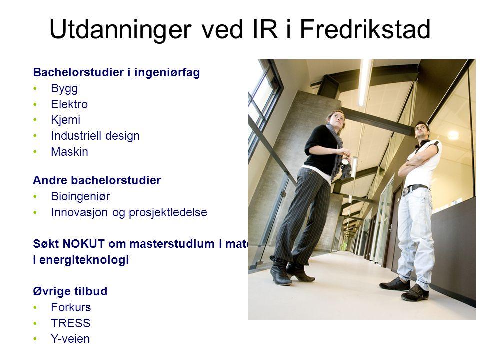 Utdanninger ved IR i Fredrikstad