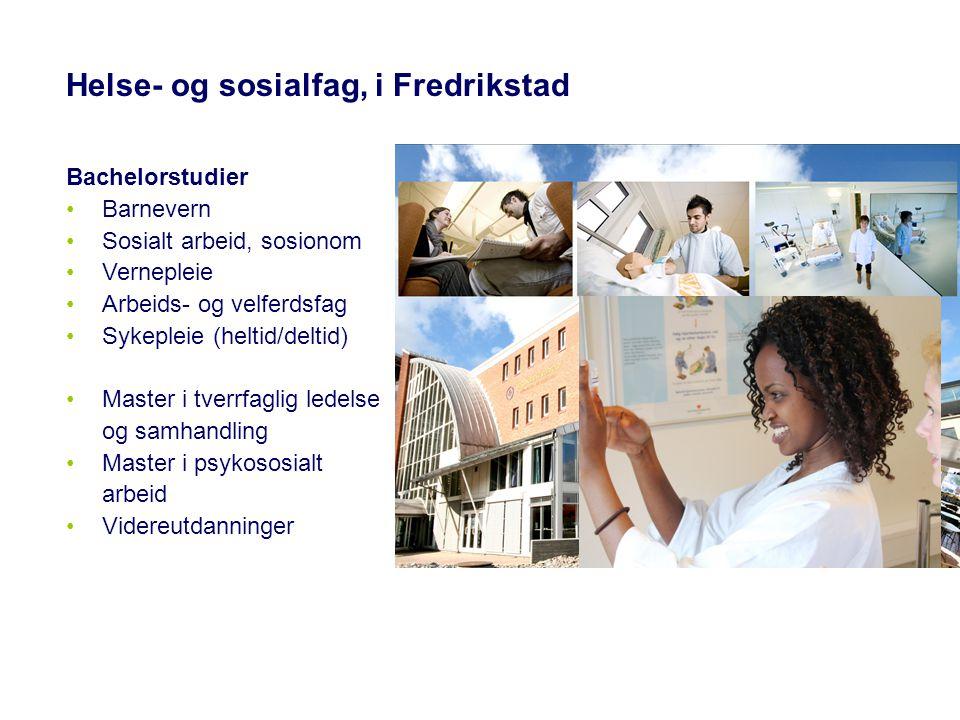 Helse- og sosialfag, i Fredrikstad