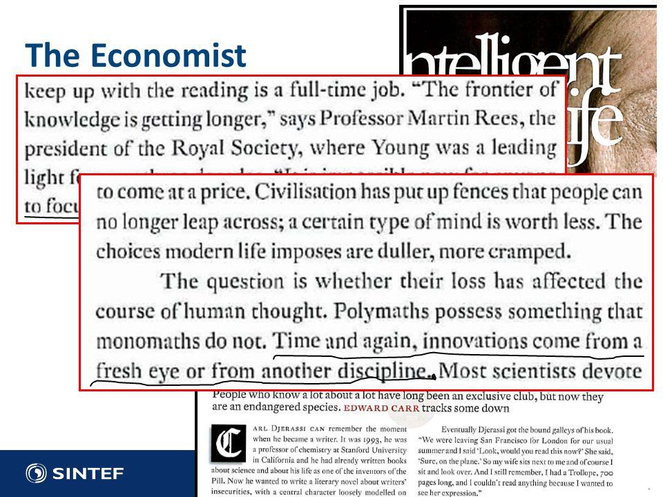 The Economist 2009: