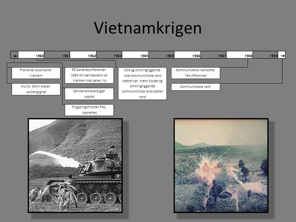 Vietnamkrigen Frankrike koloniserer Vietnam På Genevekonferansen