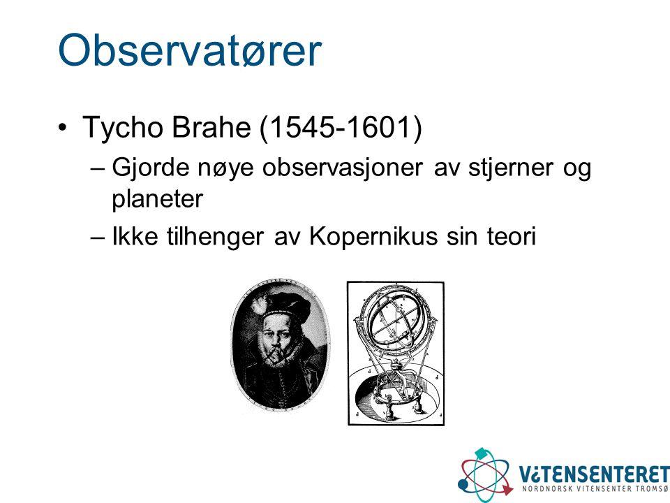 Observatører Tycho Brahe (1545-1601)