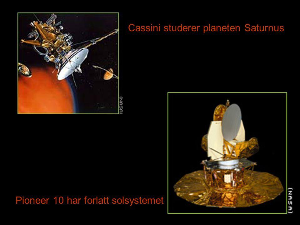 Cassini studerer planeten Saturnus