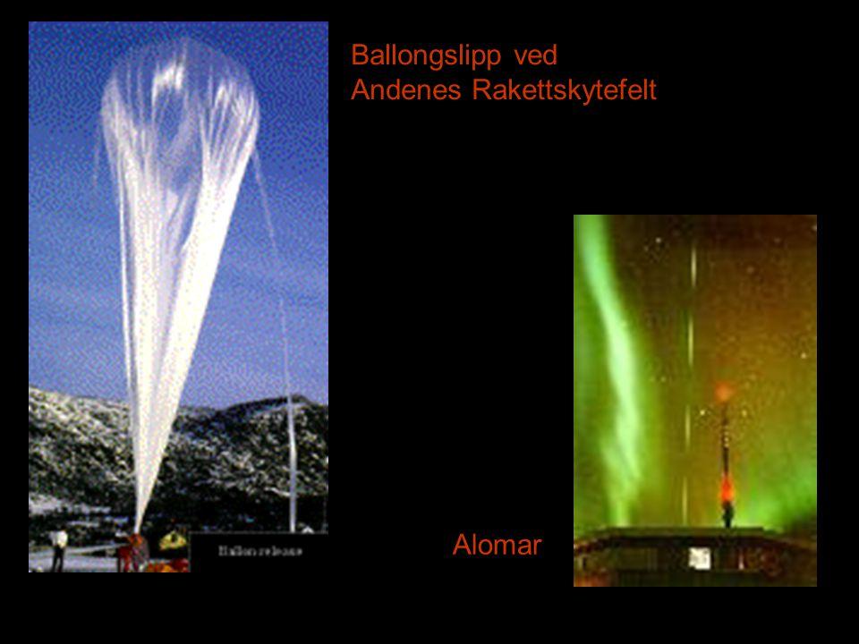 Ballongslipp ved Andenes Rakettskytefelt Alomar