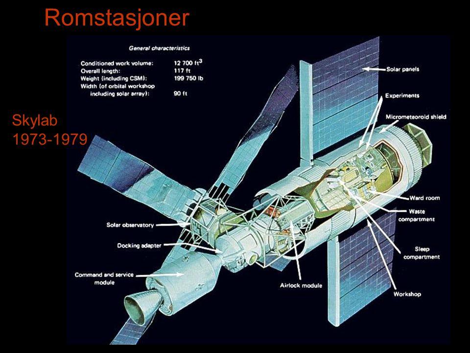 Romstasjoner Skylab 1973-1979