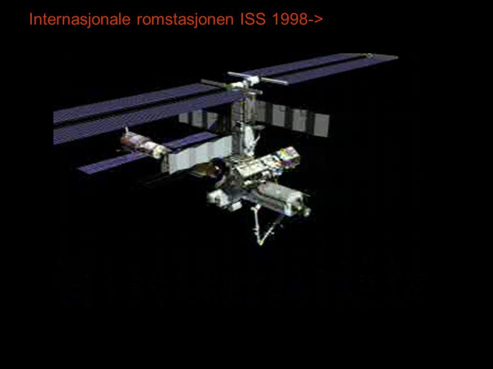Internasjonale romstasjonen ISS 1998->