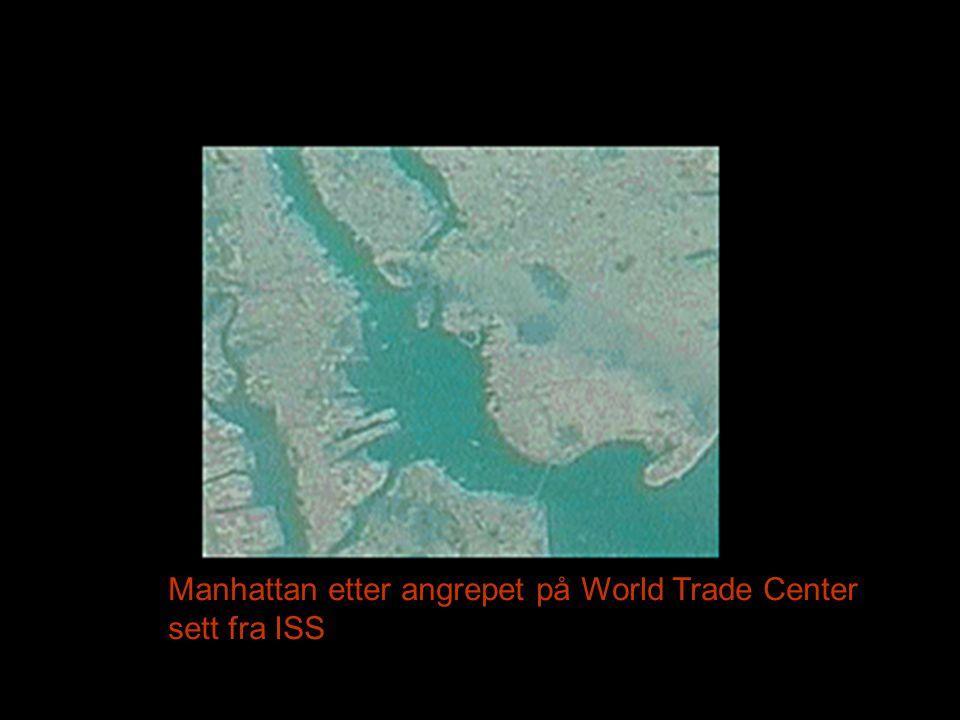 Manhattan etter angrepet på World Trade Center