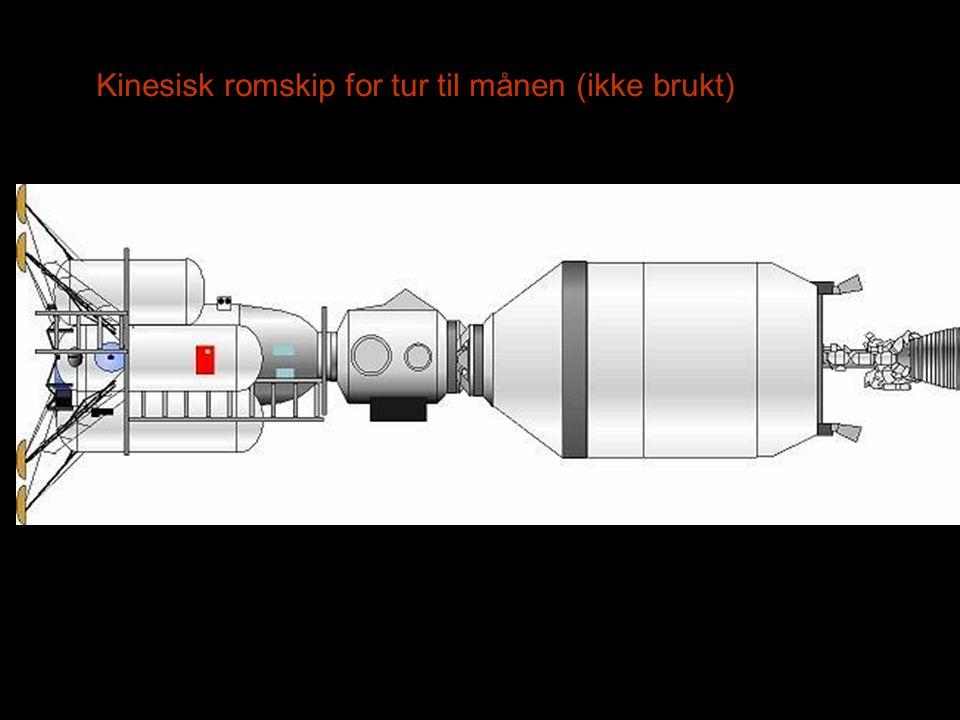 Kinesisk romskip for tur til månen (ikke brukt)