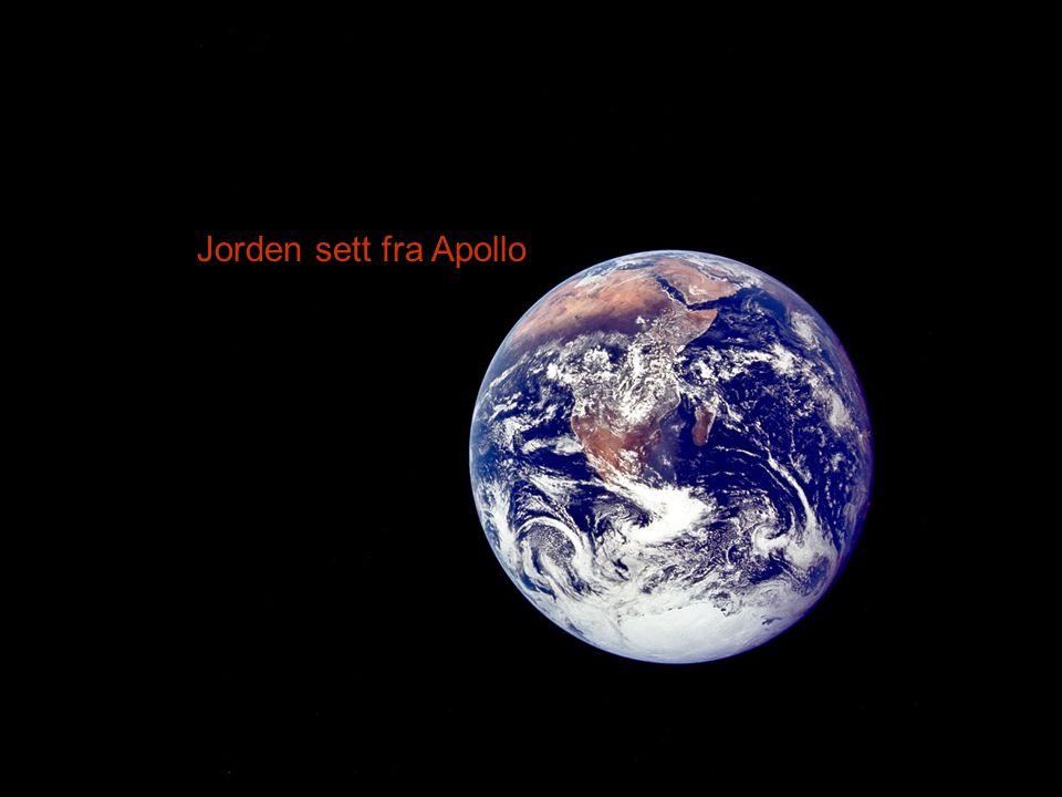 Jorden sett fra Apollo
