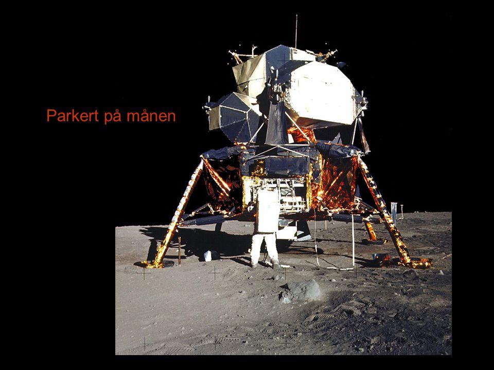 Parkert på månen
