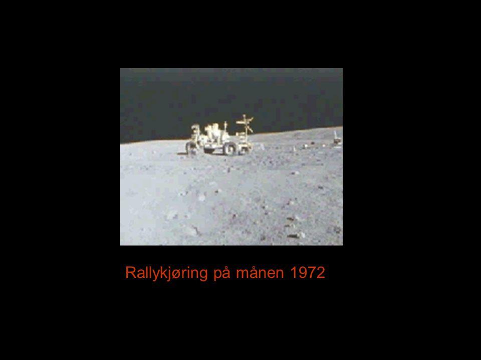 Rallykjøring på månen 1972