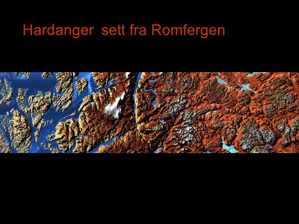 Hardanger sett fra Romfergen