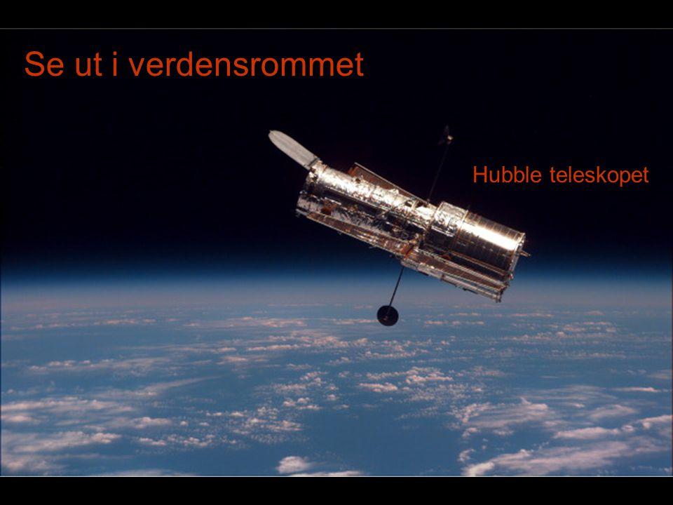 Se ut i verdensrommet Hubble teleskopet