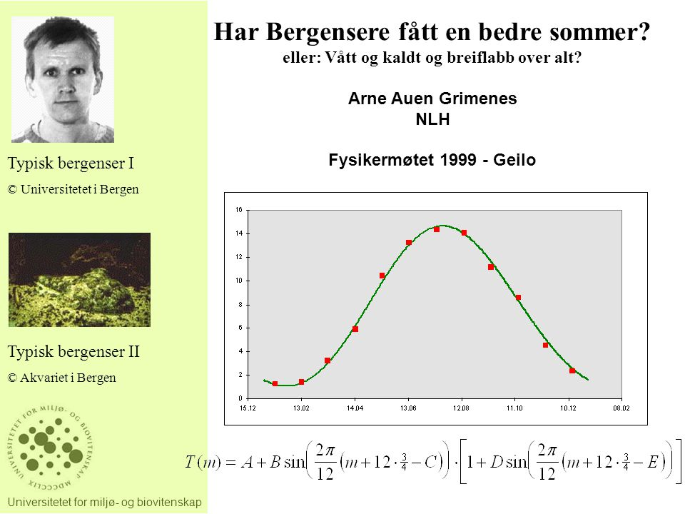 Har Bergensere fått en bedre sommer