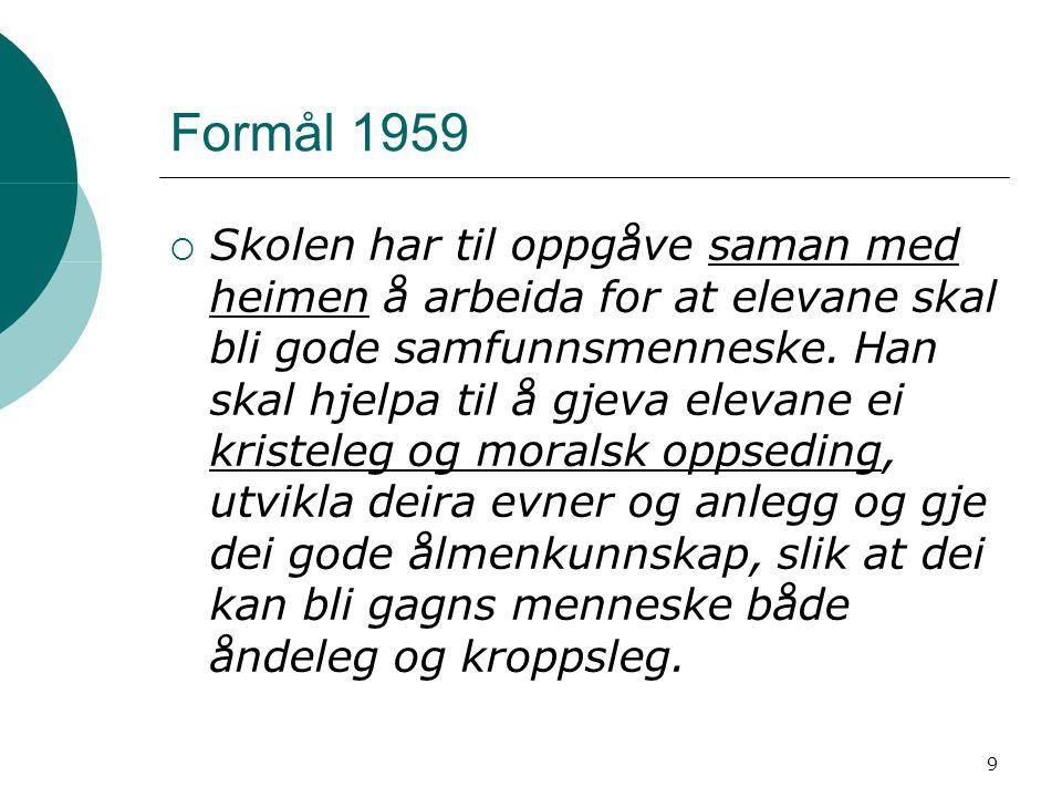 Formål 1959