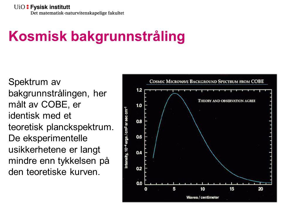 Kosmisk bakgrunnstråling