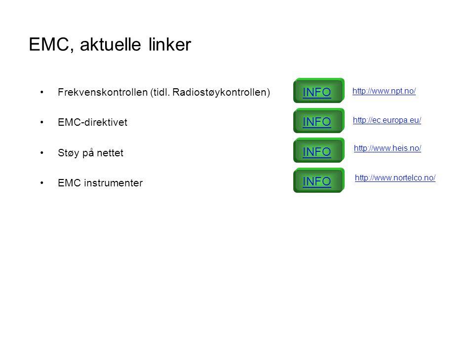 EMC, aktuelle linker INFO INFO INFO INFO