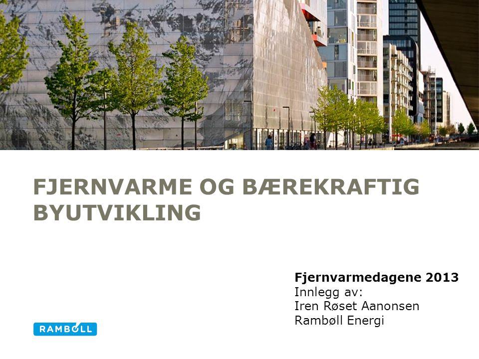 Fjernvarme og Bærekraftig byutvikling