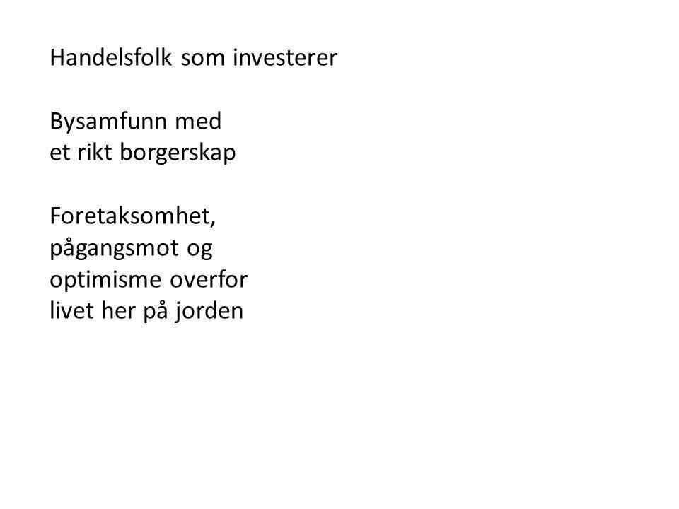 Handelsfolk som investerer