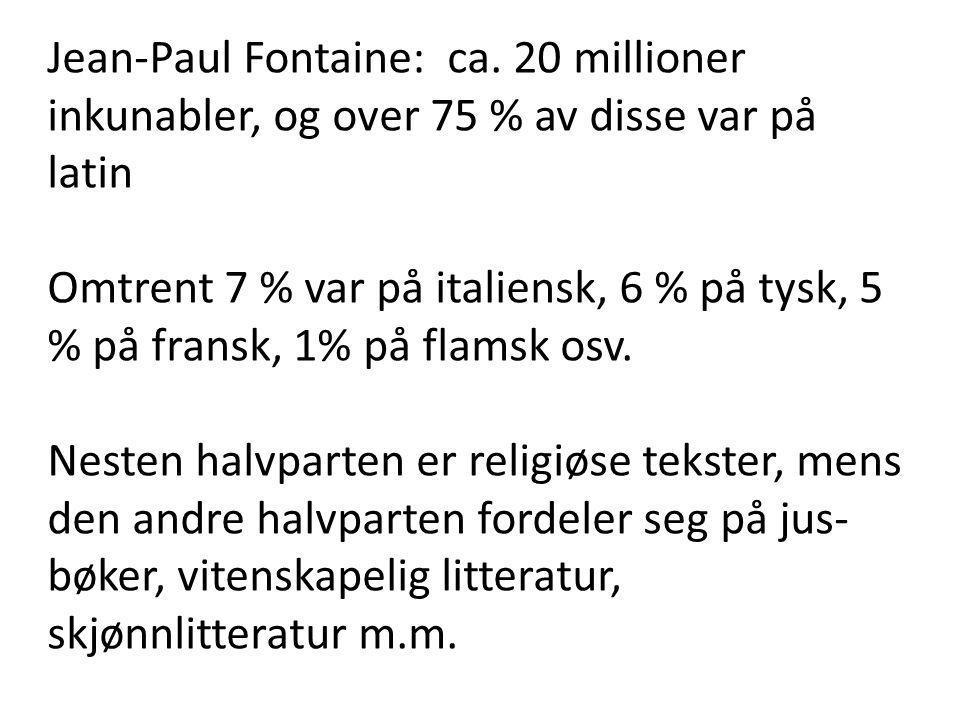 Jean-Paul Fontaine: ca