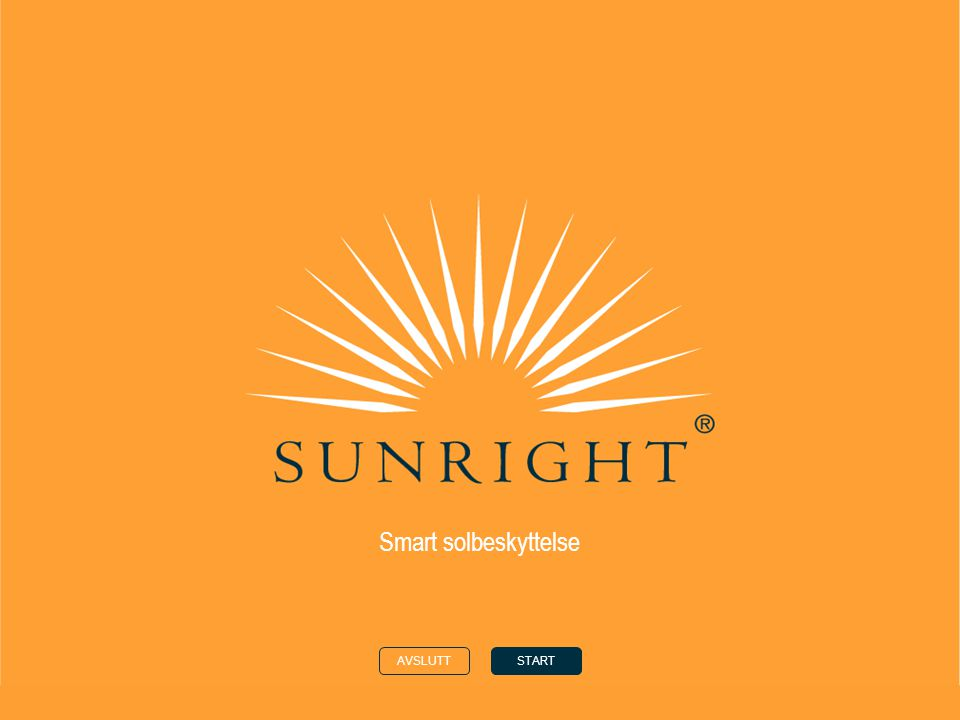 Smart solbeskyttelse AVSLUTT START