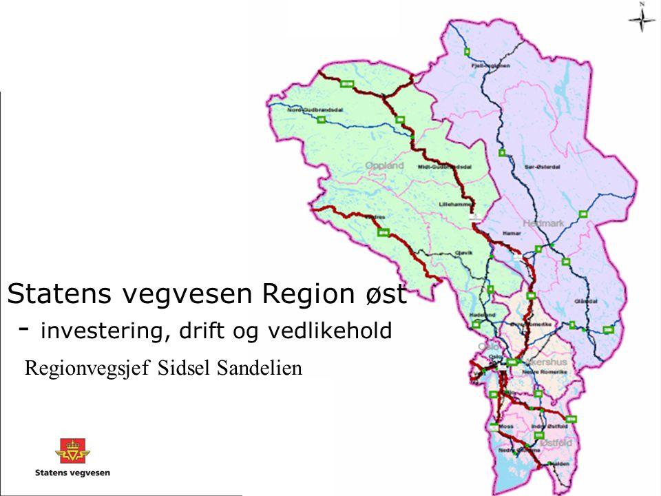 Statens vegvesen Region øst - investering, drift og vedlikehold