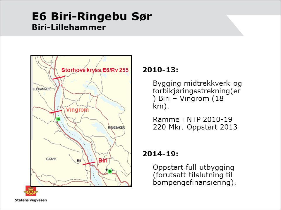 E6 Biri-Ringebu Sør Biri-Lillehammer