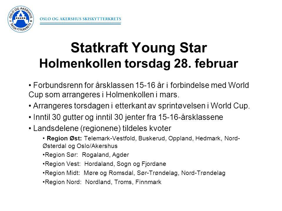 Statkraft Young Star Holmenkollen torsdag 28. februar